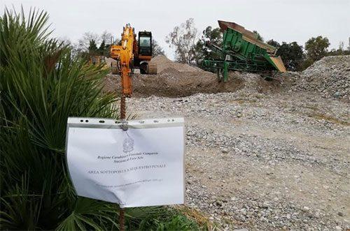 Sequestro sito stoccaggio Albanella - Scoperto sito di stoccaggio ad Albanella