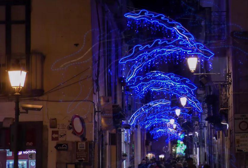 LUCI 1 - Salerno, tornano le luci d'artista - probabile inaugurazione il 20 novembre 2021