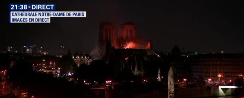 Notre Dame di Parigi a fuoco – Diretta Youtube