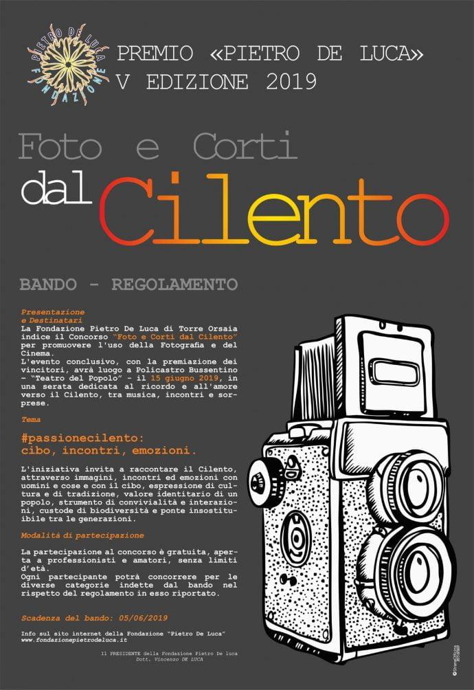 Foto e corti dal cilento 2019 programma locandina 1 - Foto e Corti dal Cilento 2019 - Policastro Bussentino