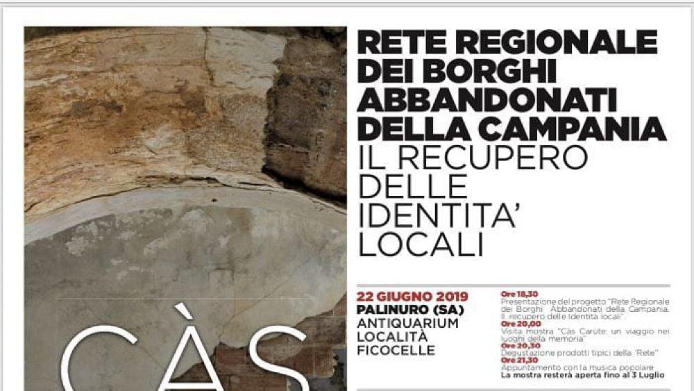 """19062019 rete dei borghi 03 - Il Governatore De Luca sulla """"rete dei borghi abbandonati"""": un esempio virtuso"""
