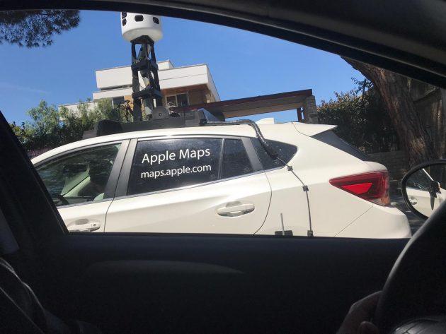 Apple maps nel Cilento: la nuova app che sfida google street view avvistata a Torchiara e Prignano Cilento