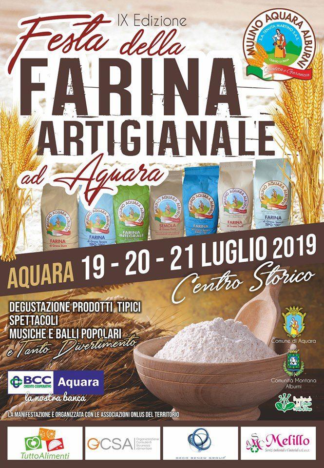 festa farina artigianale Aquara eccellenze Aquaresi 2019 Cilento Programma 2 - Aquara, 9° Festa della farina artigianale e delle Eccellenze Aquaresi - dal 19 al 21 Luglio 2019
