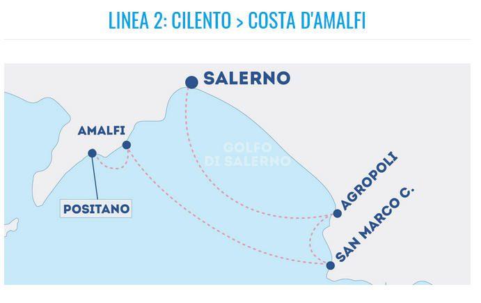 linea2 - Orari e costi Metro' del Mare dal 22 giugno
