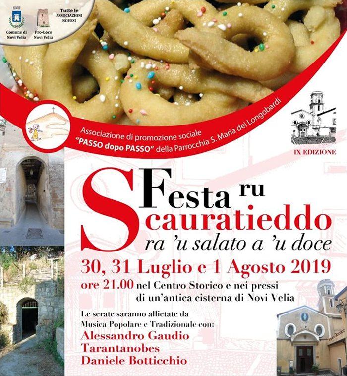 9 Festa ru Scauratieddo 2019 Novi Velia Cilento Programma - Novi Velia, 9° Festa ru Scauratieddo - dal 30 Luglio al 01 Agosto 2019