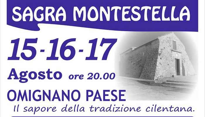 Sagra MonteStella 2019 Omignano Paese Cilento - Omignano, Sagra Montestella - dal 15 al 17 Agosto 2019