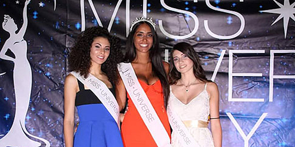 Atena Lucana, Miss Universe Italy: vince Sofia Marilù Trimarco
