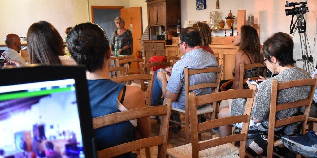 paola de conciliis 1024x510 - AgrobioCilento, incontro a Prignano Cilento: l'esperienza dei viticultori De Conciilis e l'Aglianicone - video