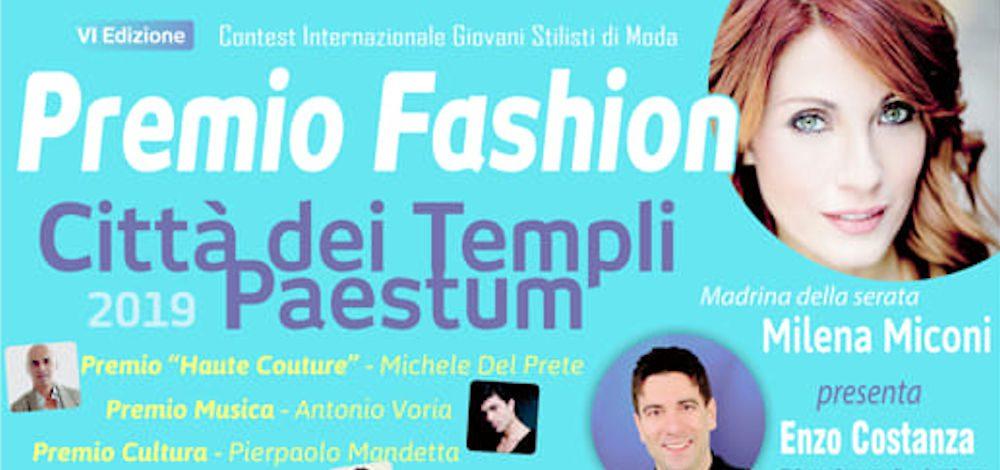 premio paestum fashion - Paestum Capitale dell'Alta Moda, sabato 20 luglio 2019