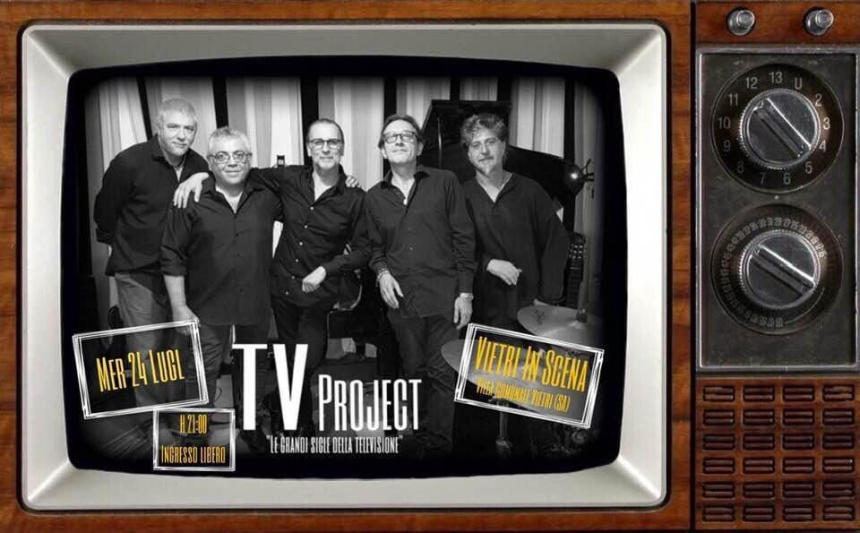Vietri in Scena, TV PROJECT – Mercoledì 24 Luglio Villa Comunale di Vietri