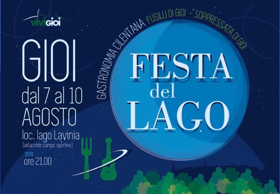 5 Festa del Lago 2019 Gioi Cilento locandina - Sagre ed eventi: oggi, 7 agosto 2019 - in aggiornamento