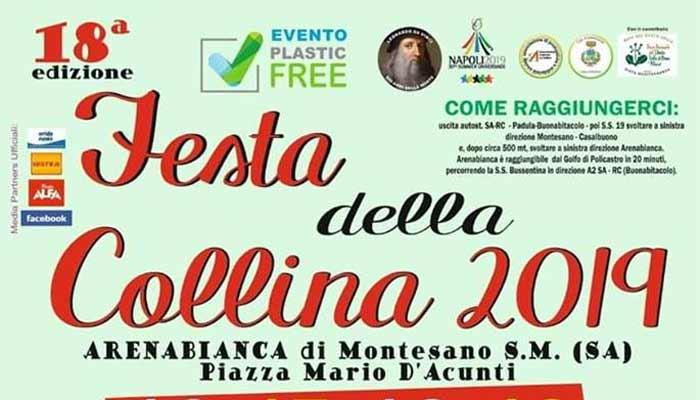 8 Festa della Collina 2018 Arenabianca di Montesano - Arenabianca di Montesano, 18° Festa della Collina 2019 - dal 16 al 19 Agosto 2019