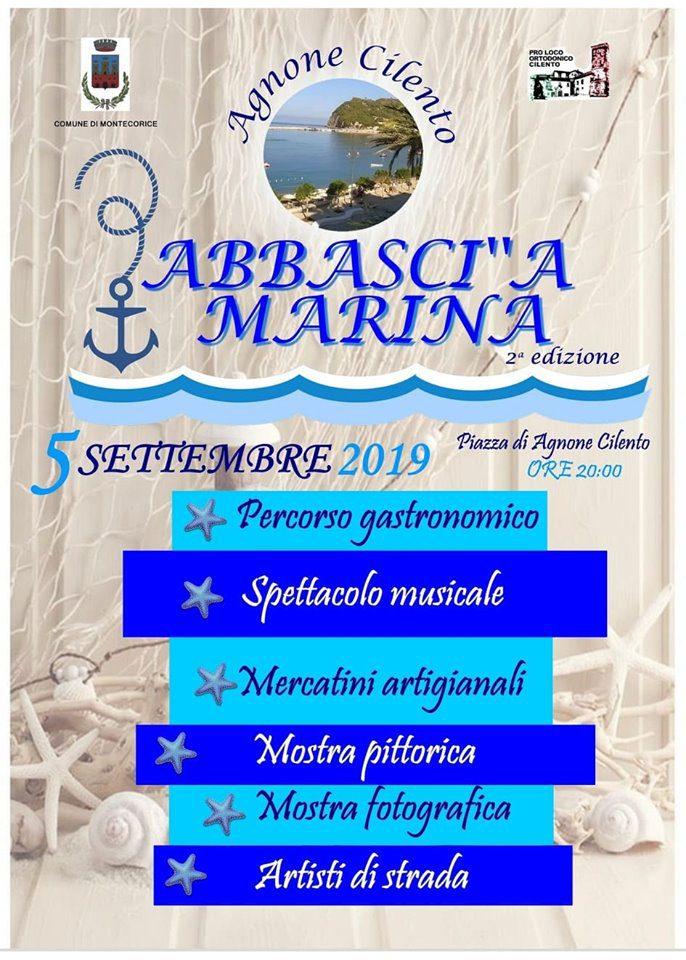 Abbasci a Marina 2019 Agnone Cilento gastronomia incontro Programma - Agnone Cilento, Abbasci A Marina - 5 Settembre 2019