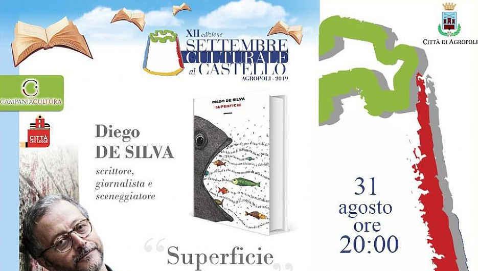 """Agropoli, """"Settembre Culturale"""", arriva Diego da Silva"""