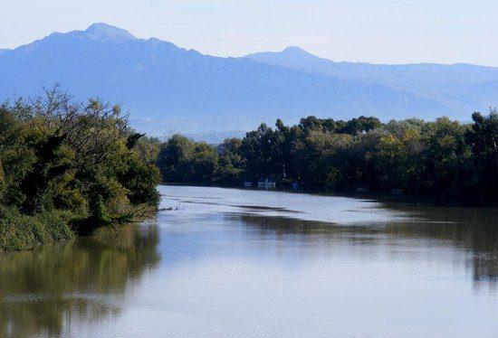 il fiume sele - Piena del Fiume Sele, interviene il Consorzio bonifica