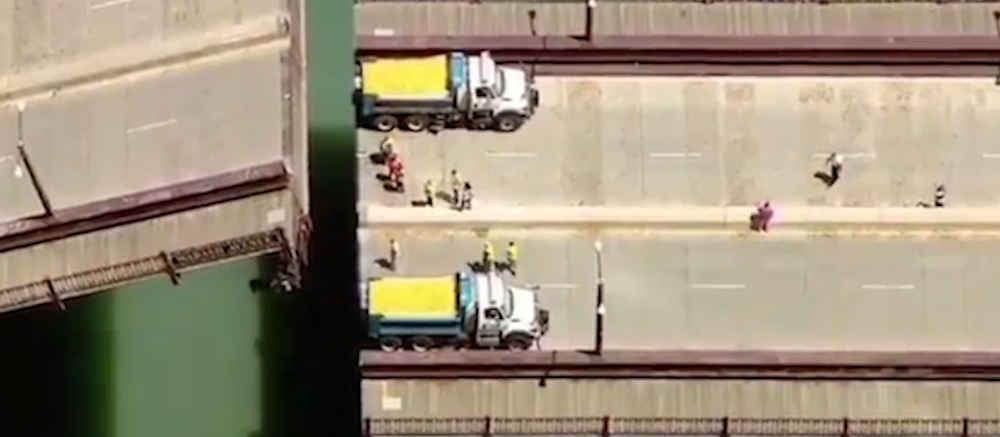 papere - Curiosita': Chicago, il fiume si tinge di giallo - oltre 60.000 papere di gomma finiscono in acqua (video)