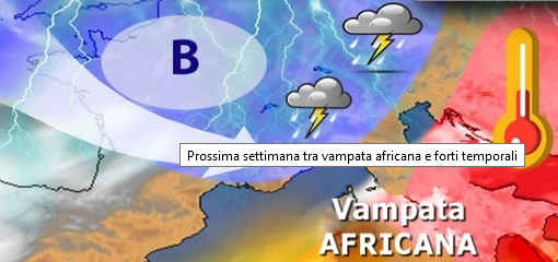 Meteo: da lunedi' nuova vampata africana