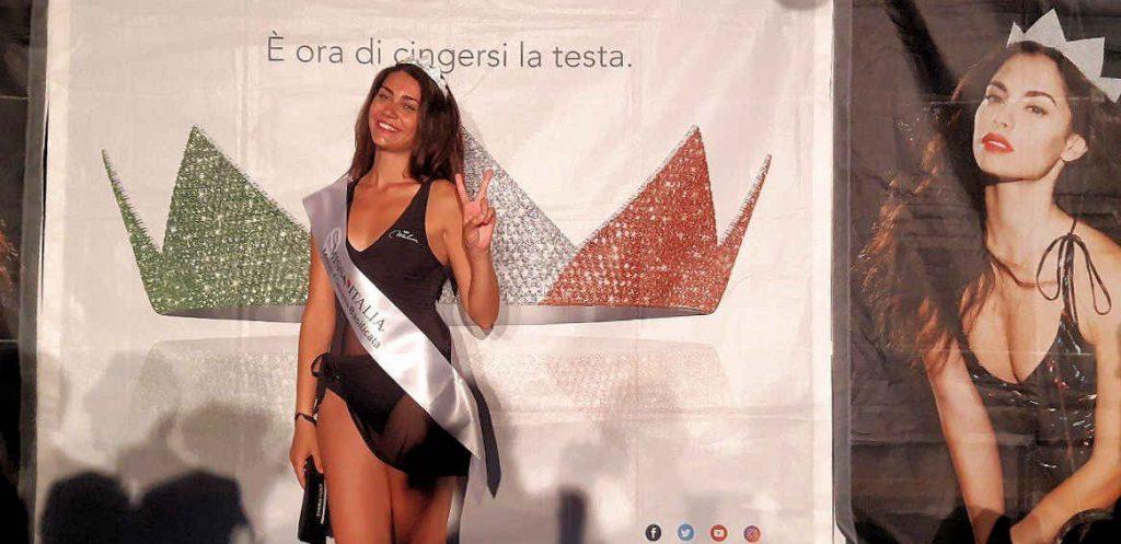 Da Agropoli a Miss Italia: Zoe licia Coccia alle prefinali