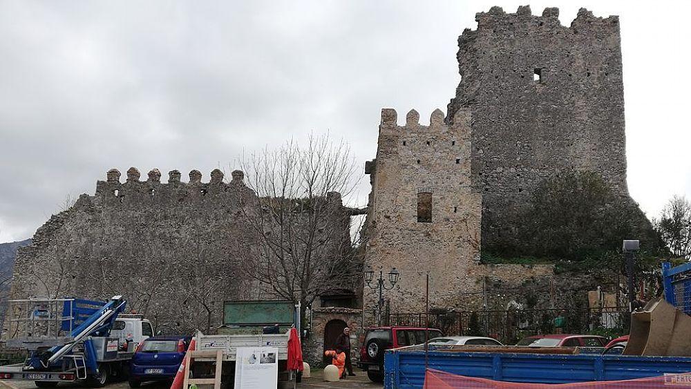 12032019 piazza castello camerota 03 - Camerota, al via i lavori in piazza Castello e Palazzo Salerno