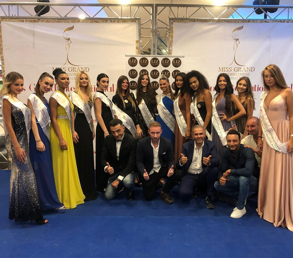 SCELTE LE 10 RAGAZZE PER LA FINALISSIMA DI MISS GRAND INTERNATIONAL
