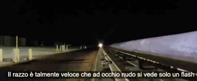 Immagine1 - Razzo ipersonico viaggia a più di 10mila km all'ora - video slow motion
