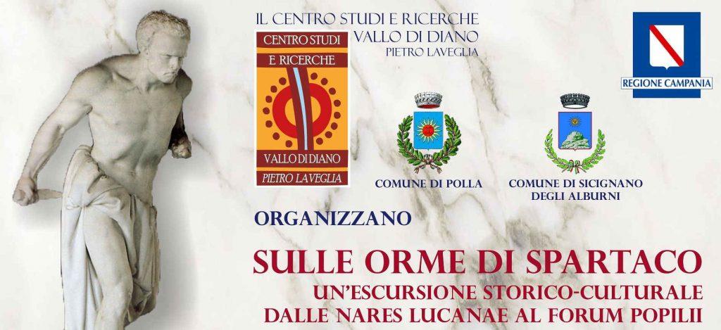 """SPARTACO 1024x469 - Escursione storico-culturale """"Sulle orme di Spartaco"""" tra Sicignano, Polla e Caggiano"""