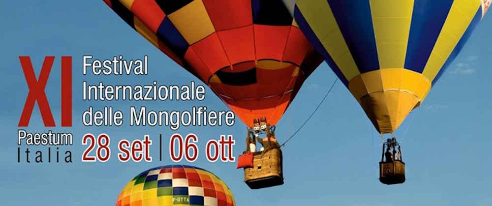 festival paestum - Paestum, 11° Festival internazionale delle mongolfiere - dal 28 Settembre al 06 Ottobre 2019