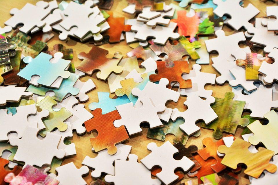 Il puzzle della domenica al buio…