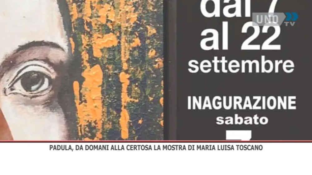 Padula, inaugurazione della mostra d'arte di Maria Luisa Toscano