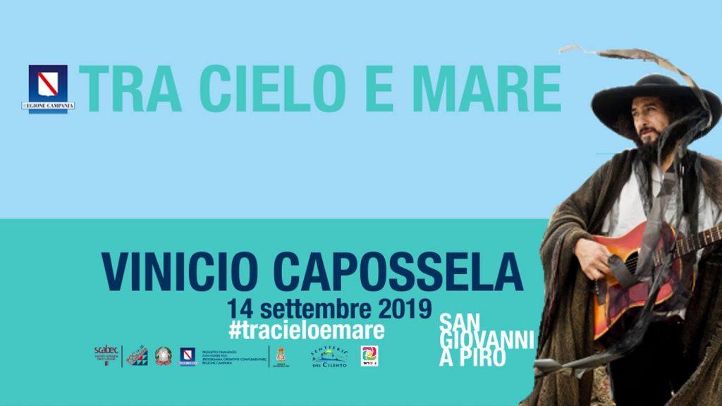 S. Giovanni a Piro – Escursione concerto con Vinicio Capossela – 14 settembre 2019