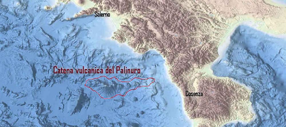vulcani - Ingv. Individuato nel Tirreno uno dei più grandi complessi vulcanici sottomarini in Italia