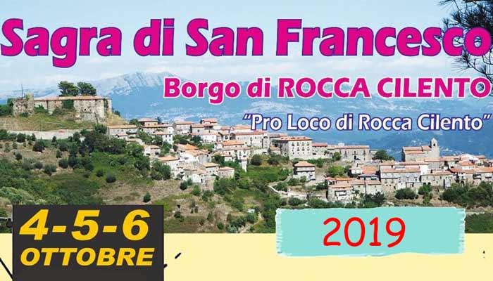 Rocca Cilento, Sagra di San Francesco – dal 4 Ottobre al 6 Ottobre 2019