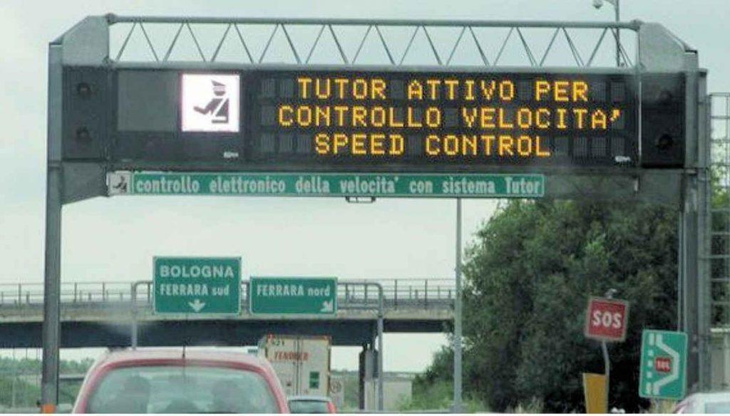 tutor 1024x584 - Autostrade, riattivati i Tutor su 87 tratte (anche in Campania)