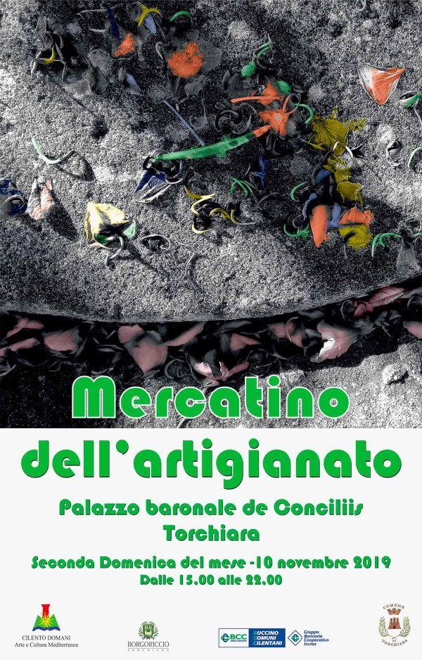 07112019 mercatino artigianale torchiara - Artigianato al Palazzo Baronale De Conciliis di Torchiara - domenica 10 novembre 2019