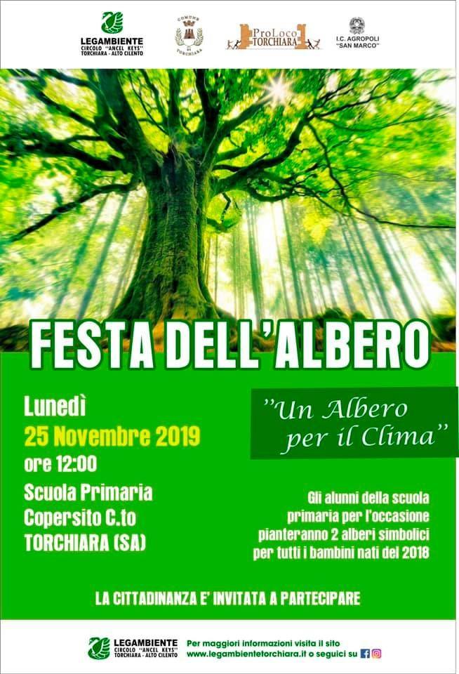 """22112019 festaalbero2019 - Anche Torchiara partecipa alla """"Festa dell'albero"""""""