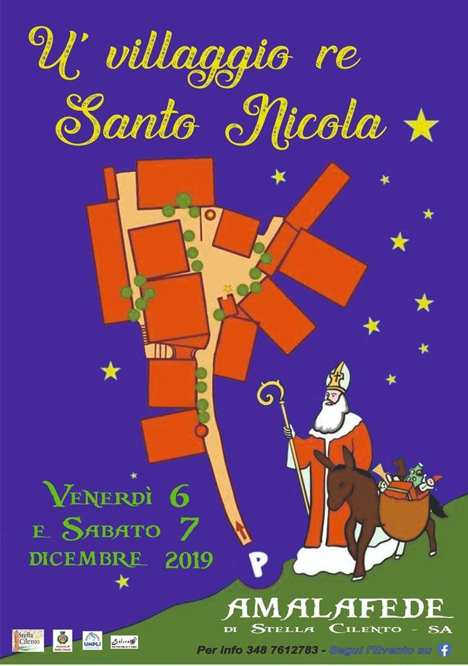 Il villaggio di San Nicola 2019 Amalafede mercatini natale stella Cilento Mappa - Amalafede, Il villaggio di San Nicola - dal 6 al 7 Dicembre 2019