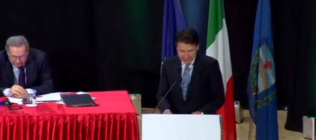 """conte 1 1024x455 - Conte nel Cilento, la presentazione del """"Manifesto per il Mezzogiorno"""" - il video"""