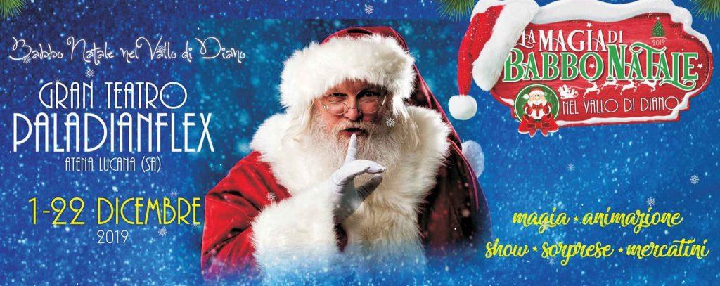 dianflex 1024x407 - PalaDianflex di Atena Lucana, La magia di Babbo Natale nel Vallo di Diano.