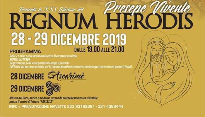 Monteforte Cilento, Presepe Vivente – dal 28 al 29 Dicembre 2019