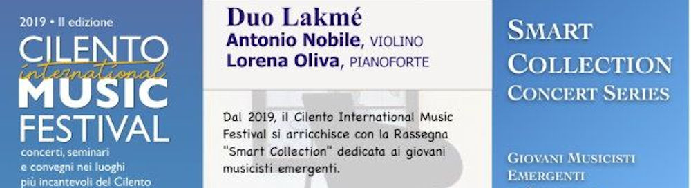"cilento music festival - Torchiara, rassegna ""Smart Collection"" - Cilento International Music Festival - 8 dicembre"