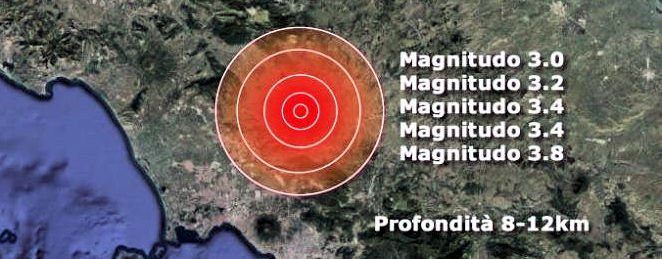 Campania, sciame sismico: scuole evacuate nel beneventano – TWEET INGV