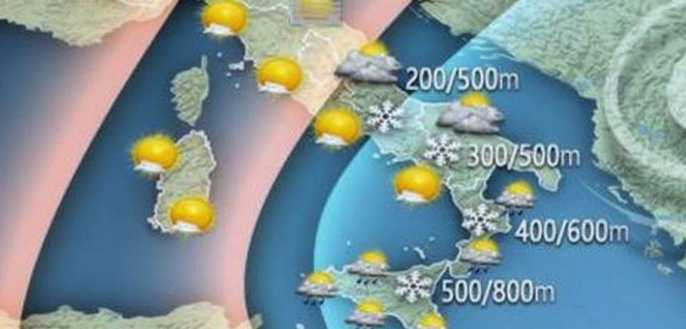 meteo - Meteo: per Capodanno bel tempo e temperature in aumento al sud