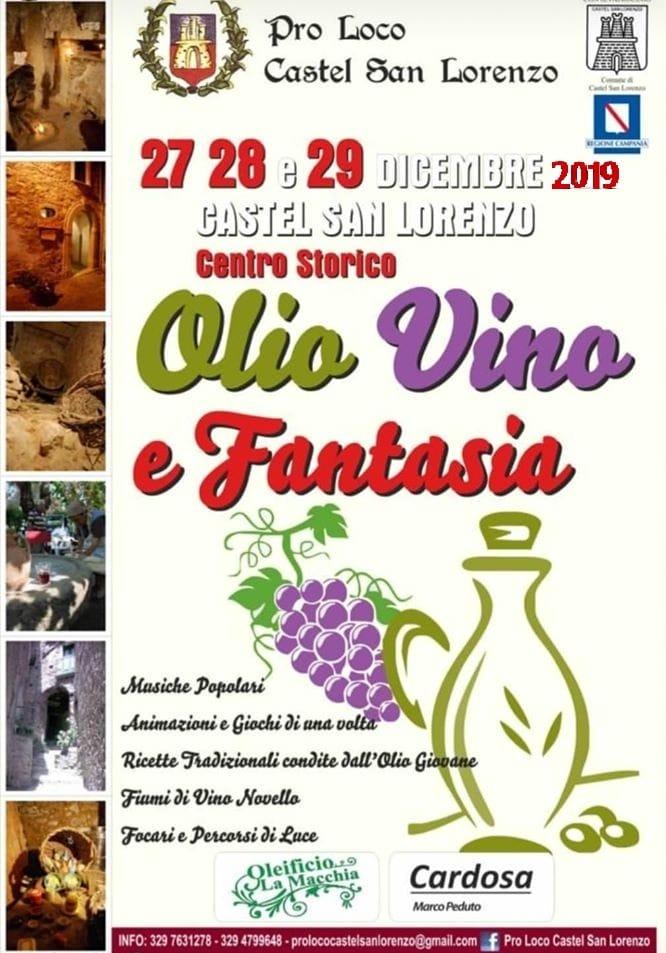 olio - Castel San Lorenzo, Olio Vino e Fantasia - dal 27 al 29 Dicembre 2019