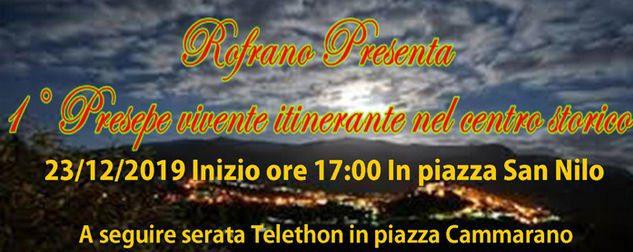 Rofrano, Presepe Vivente itinerante nel centro storico – 23 Dicembre 2019