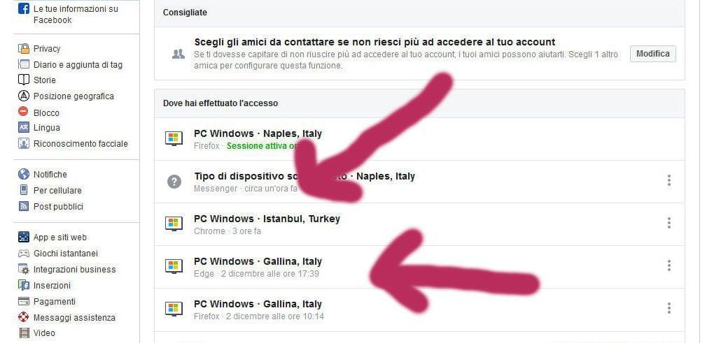 """sonoentratidasito - Hacker bucano Facebook (?) e ci """"fregano"""" duecento euro in poche ore... - e' successo a noi questa notte"""