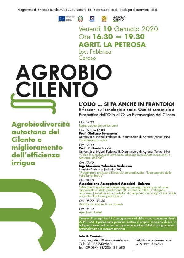 07012020 agrobiocilento - AGROBIOCILENTO - AGROBIODIVERSITA' AUTOCTONA DEL CILENTO E MIGLIORAMENTO DELL'EFFICIENZA IRRIGUA