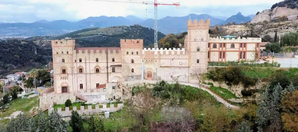 """Battipaglia, il """"Castelluccio"""" visto dal drone – video drone di Alessandro Trotta"""