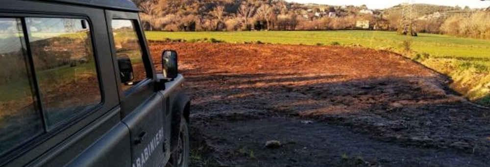cc - Altavilla Silentina, sequestrato un allevamento per smaltimento illecito di rifiuti