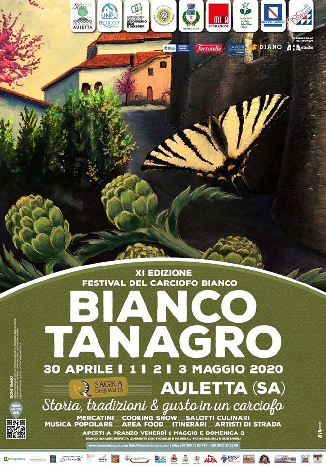 11 Bianco Tanagro Festa Carcifo Bianco 2020 Auletta Cilento 2 - Auletta, 11° Festa del Carciofo Bianco - dal 30 Aprile al 3 Maggio 2020