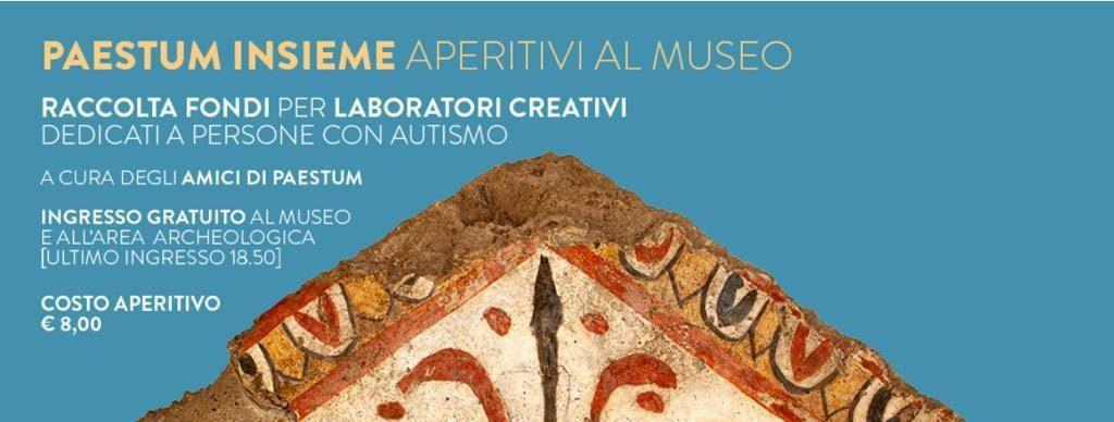 Tornano gli aperitivi al Museo di Paestum, tutti i giovedì dalle ore 18:00 alle 19:30